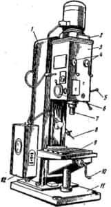 Установка сверлильная вертикального типа