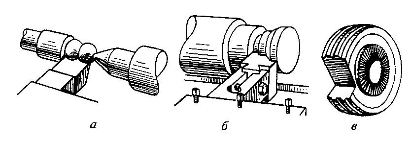 Основные типы фасонных резцов